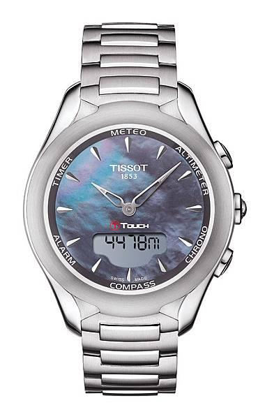 圖10.天梭表TISSOT T-Touch Lady Solar太陽能觸控腕錶 建議售價NT$29,000