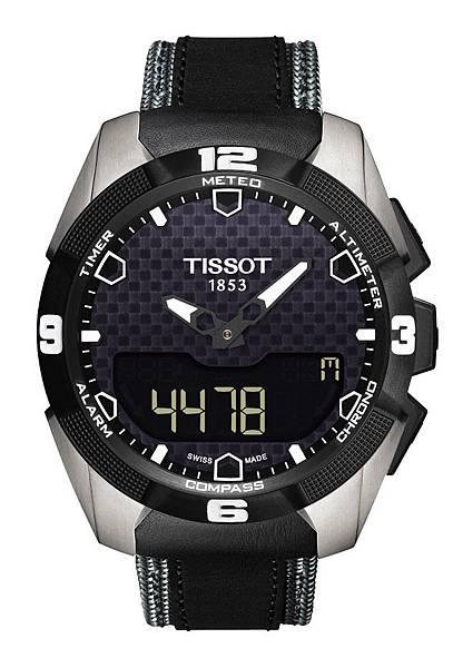 圖2.天梭表TISSOT T-Touch Expert Solar太陽能觸控腕錶 建議售價NT$32,400