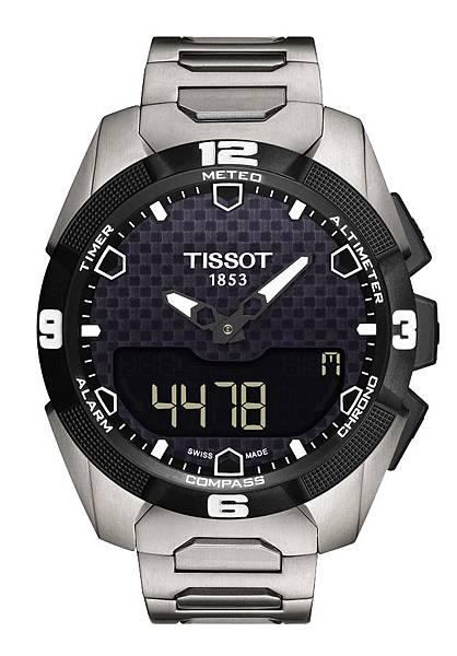 圖4.天梭表TISSOT T-Touch Expert Solar太陽能觸控腕錶 建議售價NT$35,900
