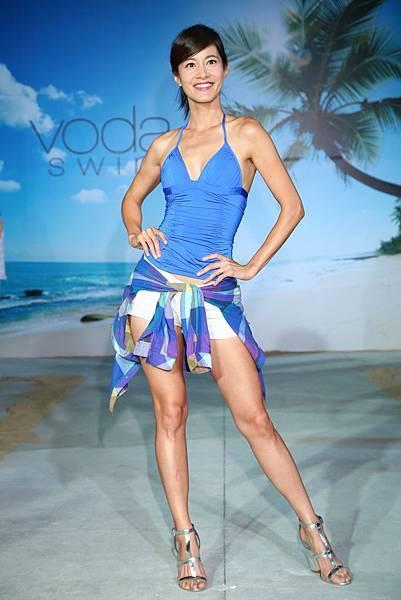 陽光女神Janet 謝怡芬出席Voda Swim 2015春夏新品發表會2