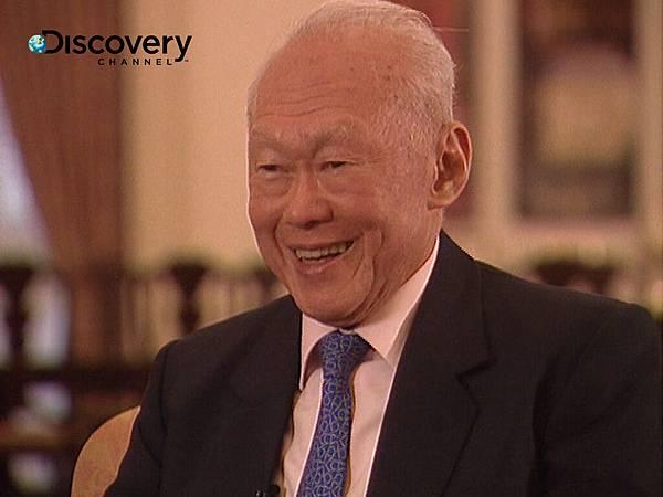 李光耀接受專訪回顧一生