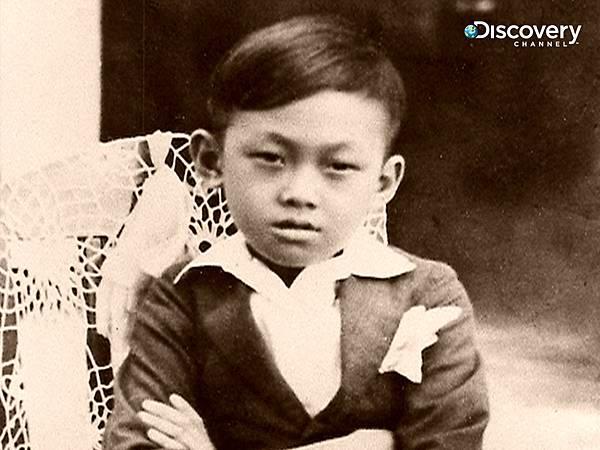 小時候的李光耀