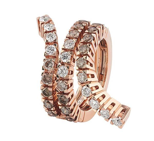 3. Damiani Eden系列 玫瑰金戒指,建議售價$349,000