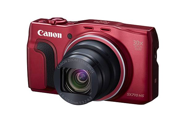 Canon PowerShot SX710 HS_Red