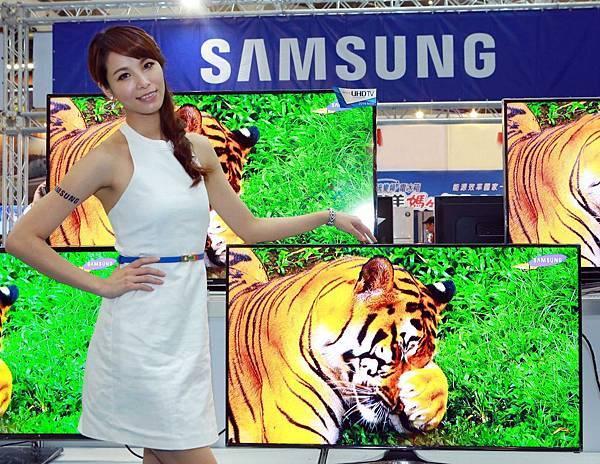 三星首次展出3月新上市的LED TV 5100系列