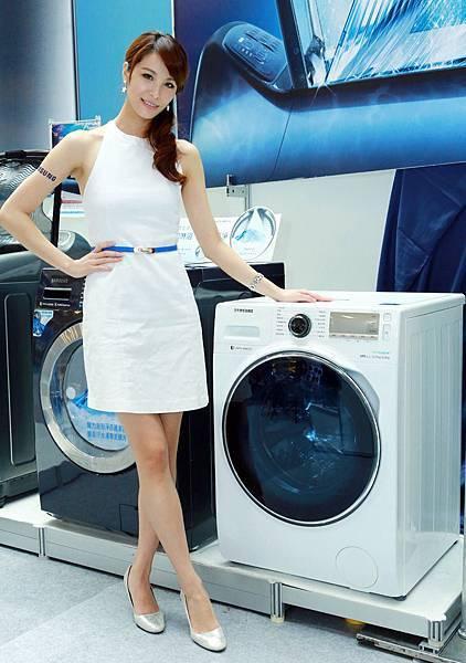 三星全系列變頻洗衣機皆獲國家省水標章認證
