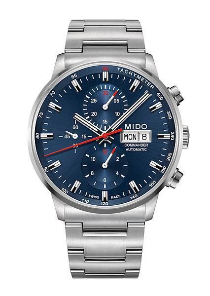 Commander Chronograph Caliber 60香榭系列60小時計時腕錶 M016.414.11.041.00 $63200