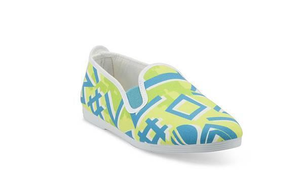 【蔡詩芸穿著款】FLOSSY-ADRA休閒鞋  鵝黃色 售價$1,650元-1