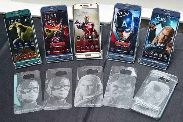 三星電子宣布將引進Galaxy S6與S6 edge獨家「復仇者聯盟背蓋」
