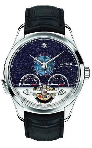 112649 萬寶龍Heritage Chronométrie傳承精密計時系列分鐘外置陀飛輪Vasco Da Gama 限量60計時腕錶,建議售...