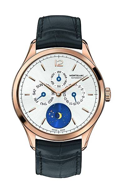 112537萬寶龍Heritage Chronométrie傳承精密計時系列Vasco da Gama 18K玫瑰金限量238年曆腕錶,建議售價...