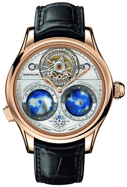 111675 萬寶龍Villeret系列筒狀游絲陀飛輪Vasco da Gama限量18腕錶,建議售價NT$8,330,000