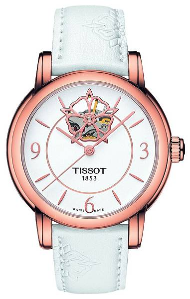 圖2.TISSOT Lady Heart 80小時自動腕錶 NT$24,600