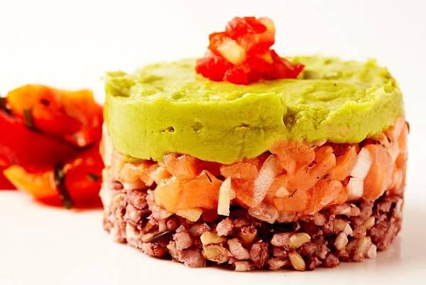統一阪急台北店_恰恰食堂蔬菜鮭魚塔推薦價160元