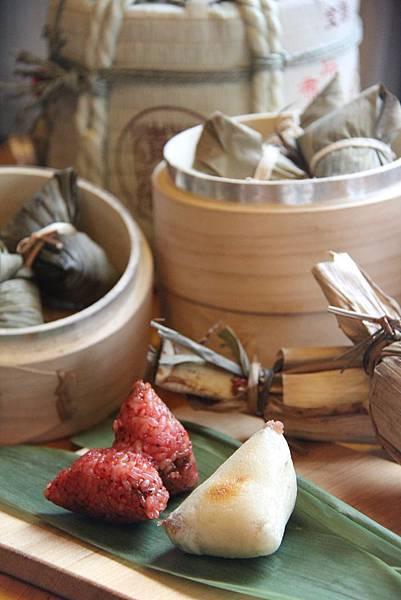 雲品溫泉酒店-紅糖 糕粽與相思荻餅粽