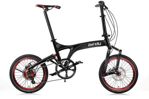 太平洋自行車NEW BIRDY_Rohloff 14SP尊榮黑_售價$130,000