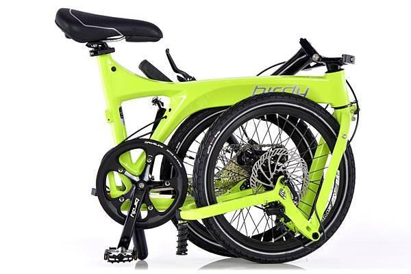 太平洋自行車NEW BIRDY_Standard 9SP_萊姆綠_售價$55,000 (折疊)