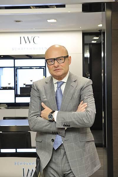 IWC萬國錶全球行政總裁喬祺斯( Georges Kern )