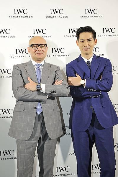 IWC萬國錶全球行政總裁喬祺斯( Georges Kern ) & 亞洲巨星周渝民