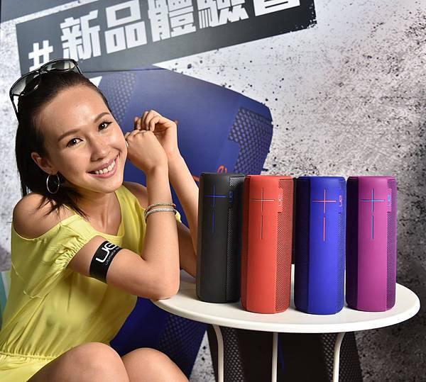 【圖一】羅技電子旗下品牌Ultimate Ears宣佈UE MEGABOOM正式登台,360度全向性音效及震撼深沉音質將帶來全新「BOOM」同聽覺饗宴。