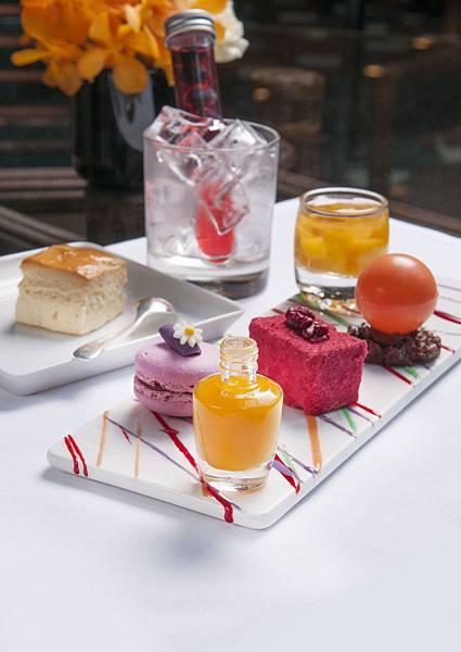 西華TOSCANA x OPI指彩下午茶 主廚精製茶點 俏麗詮釋今夏最夯新色