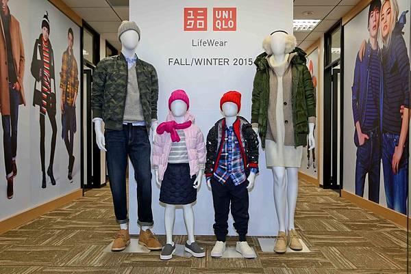 UNIQLO 發表 2015LifeWear秋冬新品