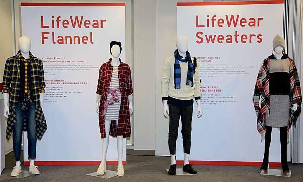 UNIQLO 發表 2015LifeWear秋冬新品_Flannel法蘭絨系列.Sweaters毛衣系列