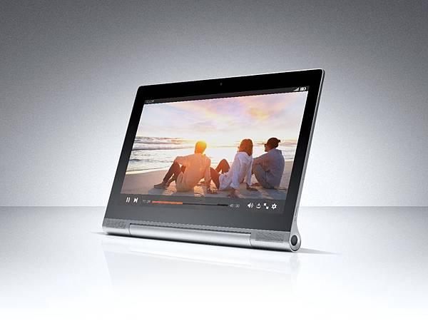 全球第一台具備四種使用模式與投影功能的13吋平板電腦 - Yoga Tablet 2Pro
