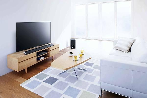 圖3) 入門機種HT-CT780供小資族群選購,讓都會消費者能在小空間裡同樣享受高品質聆聽體驗。