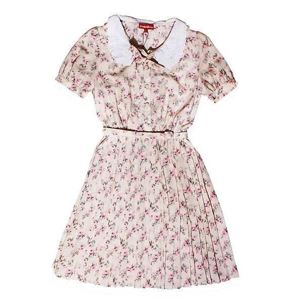 統一阪急台北店_KnightsBridge女款復古小花洋裝原價6,380元元推薦價1,880元(2.9折)