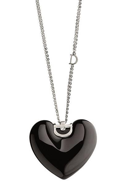 1. D.Icon魅力系列黑色陶瓷項鍊,建議售價 NTD$ 54,800