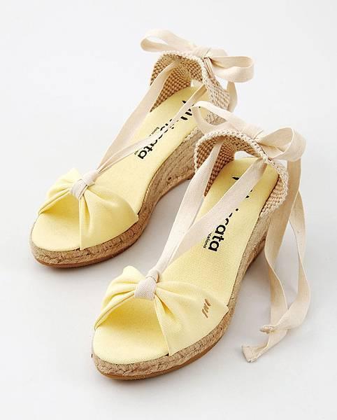 統一阪急台北店_BCN西班牙手工綁帶楔型鞋 原價4,150元 推薦價2,905元