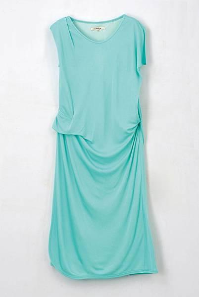 統一阪急台北店_La Fe ta絲質洋裝 原價8,980元 推薦價4,490元 限量3件