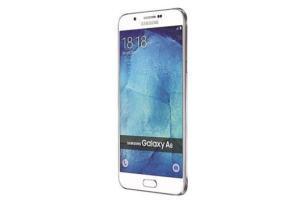 Galaxy A8 產品圖(白色)-3