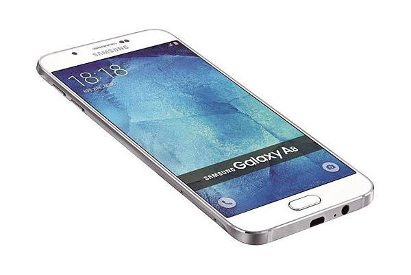 Galaxy A8 產品圖(白色)-2
