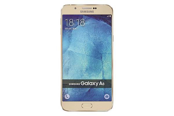 Galaxy A8 產品圖(金色)-1