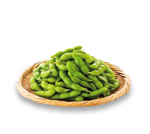 圖說二、日本枝豆桑毛豆嚴選「高雄9號」頂級毛豆,低熱量且營養價值高,口感清爽,大受女性消費者歡迎