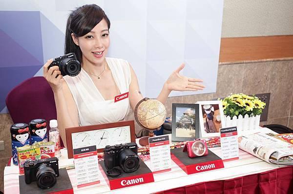 圖說一,台北電腦應用展將於7月30日盛大展開,Canon送你夏日多金好禮大回饋,搶攻市場買氣