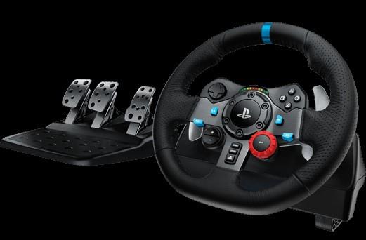 【圖五】羅技G29 DRIVING FORCE™ 賽車方向盤,打造更真實與直覺的飆速快感