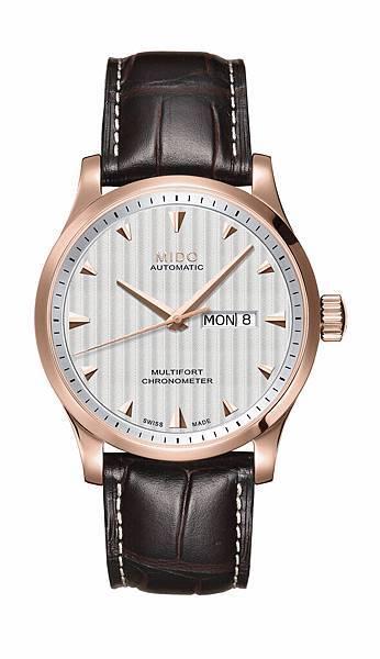 Multifort Caliber 80 Chronometer先鋒系列80小時天文台認證男仕腕錶 M005.431.36.031.00 NT$ 37,900