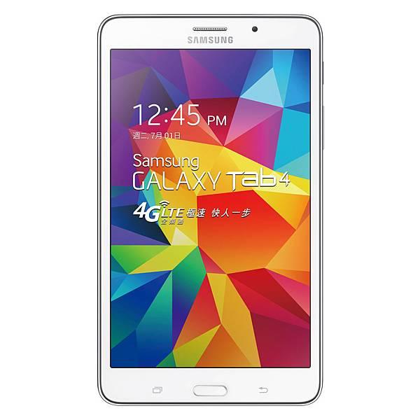 Galaxy Tab4 7.0支援台灣4G LTE全頻段,讓消費者隨時隨地盡享全台不受限行動飆網快感!
