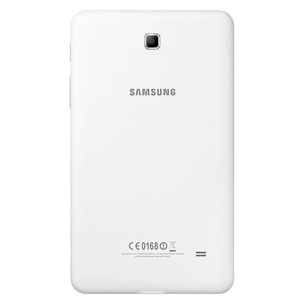 Galaxy Tab4 7.0背蓋採用獨特皮革觸感材質,創造獨特外觀與觸感