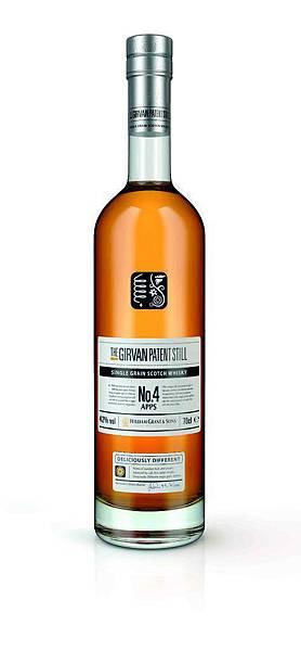 The Girvan Patent Still 格文NO.4 APPS 單一穀物威士忌 Bottle