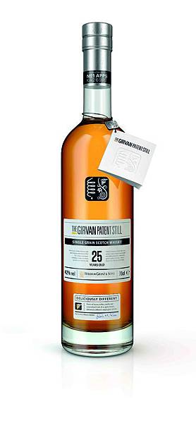 The Girvan Patent Still 格文25年單一穀物威士忌 Bottle