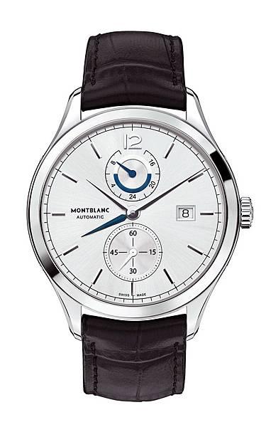 112540 萬寶龍Heritage Chronométrie傳承精密計時系列兩地時間腕錶,建議售價約NT$136,700