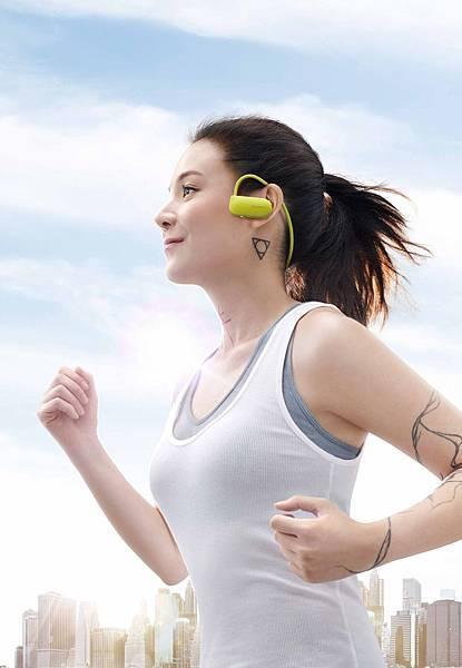 圖3)Sony Smart B-Trainer™台灣代言人歐陽靖以個人跑步哲學,引領輕量美麗的跑步風潮!