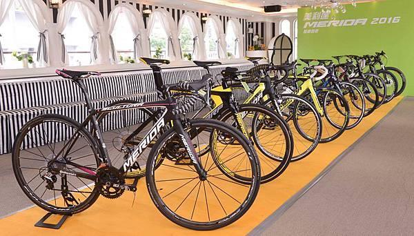 搶在8月底全球最重要的Eurobike歐洲自行車展之前推出,台灣首發美利達2016新車發表會
