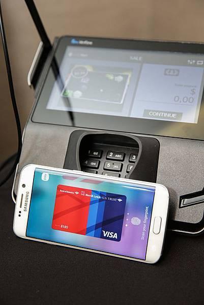 全球接受度最高的行動支付服務Samsung Pay與Visa等各大信用卡網路、發卡銀行及收單機構建立合作關係