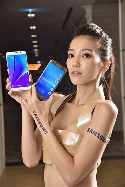 三星領先界業的5.7吋Quad HD Super AMOLED螢幕,賦予Samsung Galaxy S6 edge+ 與Note 5兩款旗艦新機無可匹敵的多媒體功能