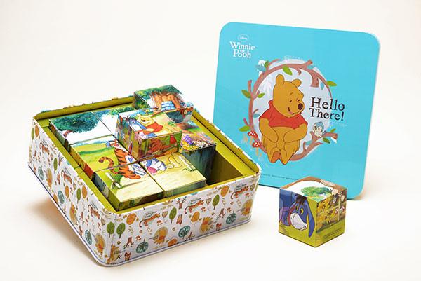 圖說三、店家奇美食品推出小熊維尼鳳梨酥禮盒,可拼成六款不同的維尼拼圖,為今年樂天市場主打特色伴手禮盒!